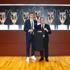 """Реал Мадрид"" представил Андрея Лунина"