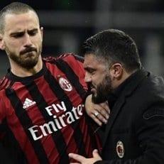 """Гаттузо признался, что Бонуччи хочет покинуть """"Милан"""""""