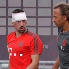 Рибери получил повреждение на тренировке