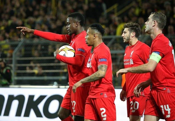 """Футболисты """"Ливерпуля"""" отмечают забитый гол, Getty Images"""