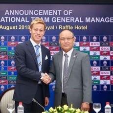 Хонда стал главным тренером сборной Камбоджи