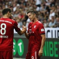 """""""Бавария"""" разгромила """"Айнтрахт"""" и выиграла Суперкубок Германии"""