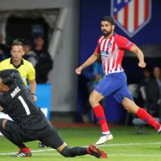 Коста забил самый быстрый гол в истории Суперкубка УЕФА