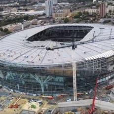 """Открытие нового стадиона """"Тоттенхэма"""" отложили на октябрь"""