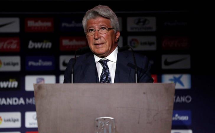 """EFE. Энрике Сересо - президент """"Атлетико Мадрид"""""""