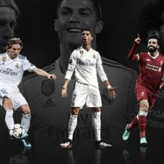 Салах, Модрич и Роналду претендуют на звание игрока сезона по версии УЕФА