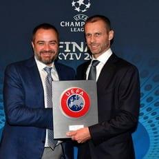 ФФУ поддержала кандидатуру Чеферина в выборах УЕФА