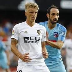 """""""Валенсия"""" и """"Атлетико Мадрид"""" победителя не выявили"""