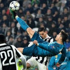 Гол Роналду признан лучшим в прошлом сезоне