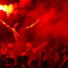 Полиция Киева остановила драку футбольных болельщиков