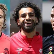 Модрич, Роналду и Салах поборются за звание лучшего игрока по версии ФИФА