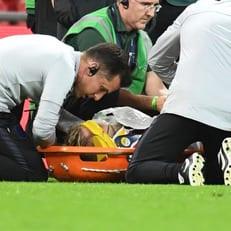 Шоу получил травму головы в матче против сборной Испании