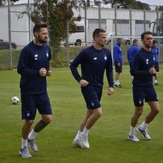 Кадар, Кендзера и Пиварич тренируются вне общей группы