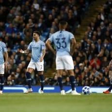 """""""Манчестер Сити"""" – первый английский клуб, проигравший 4 матча ЛЧ кряду"""
