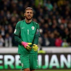 Облак приостановил свои выступления за сборную Словении
