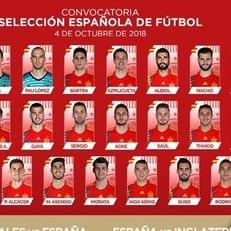 Испания объявила состав на матчи Лиги наций против Уэльса и Англии