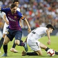 """""""Барселона"""" впервые за 2,5 года не выиграла в 4 матчах Примеры кряду"""