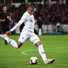 Мбаппе первым в истории сборной Франции забил 10 голов до 20 лет