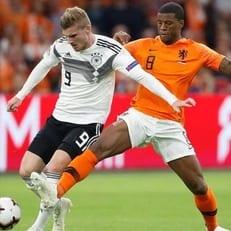 Лига наций: Нидерланды разгромили Германию