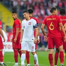 Португалия не без проблем обыграла Польшу