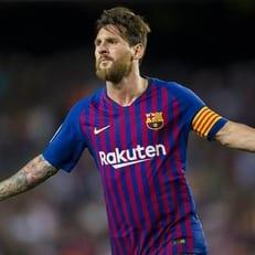 Месси – лучший игрок сентября в Ла Лиге