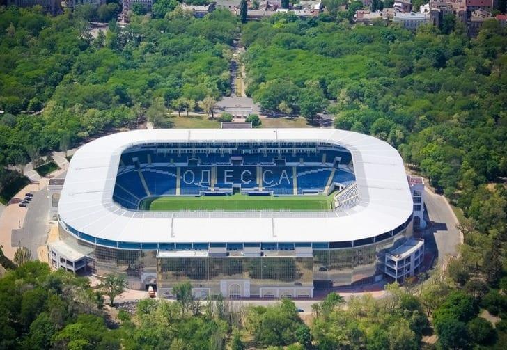 """Стадион """"Черноморец"""", фото из сообщества Одессы"""
