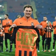 "Андрей Пятов провел 400-й матч за ""Шахтер"""