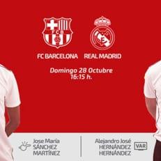 """Санчес Мартинес назначен на матч """"Барселона"""" – """"Реал Мадрид"""""""