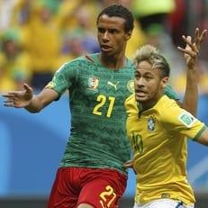 Бразилия проведет в Лондоне с Камеруном