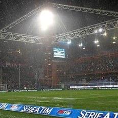 Два матча Серии А могут перенести из-за плохой погоды