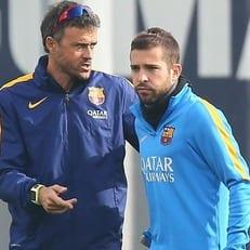 Луис Энрике вызвал Хорди Альбу в сборную Испании
