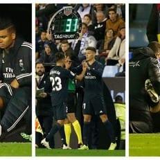 """Сразу три игрока мадридского """"Реала"""" травмировались в игре с """"Сельтой"""""""