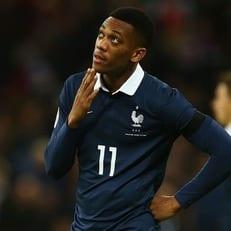Антони Марсьяль не сыграет за сборную Франции из-за травмы