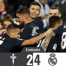 """""""Реал Мадрид"""" на выезде разобрался с """"Сельтой"""""""