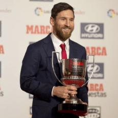 Месси признан лучшим игроком минувшего сезона по версии Marca
