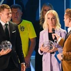 Классон признан полузащитником года в Швеции