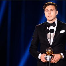 Линделеф признан игроком года в Швеции