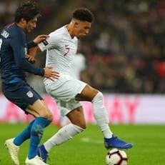 Санчо – первый за 9 лет игрок в основе сборной Англии, выступающий за клуб не из Великобритании
