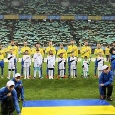 Украина заявила всех 23 игроков на матч со Словакией