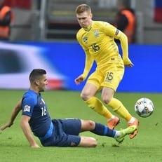 Украина в четвертый раз в истории пропустила 4 мяча в официальном матче