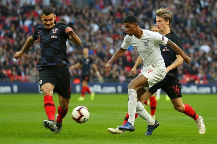 Англия - Хорватия, manchesterevening.co.uk