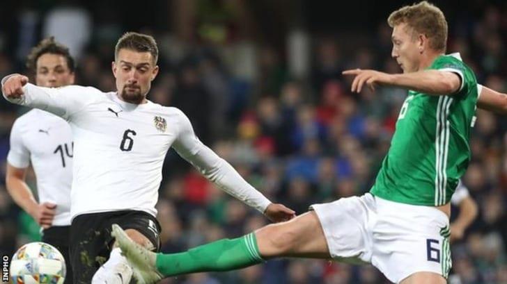 Северная Ирландия - Австрия, bbc.com