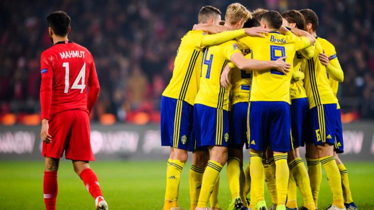 Турция - Швеция, svenskfotboll.se