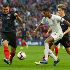 Рэшфорд травмировался в матче против Хорватии