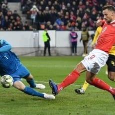 Швейцария разгромила Бельгию и вышла в плей-офф Лиги наций