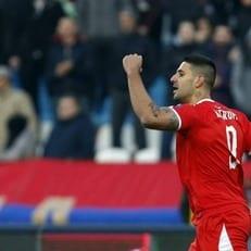 Сербия одержала победу над Черногорией