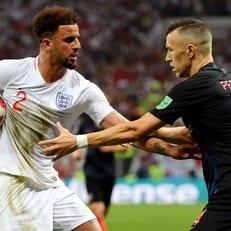 Англия - Хорватия: стартовые составы