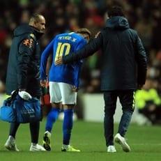 Неймар избежал серьезной травмы в сборной Бразилии