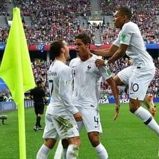 Франция - Уругвай: стартовые составы