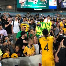 Кэйхилл провел прощальный матч за сборную Австралии